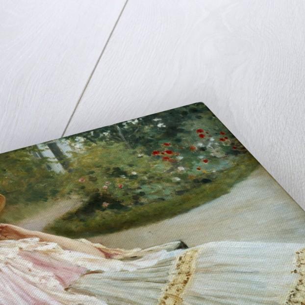 The Nap by Edouard Debat Ponsan