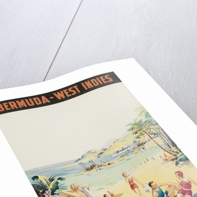 Travel Poster for Bermuda, West Indies by Corbis