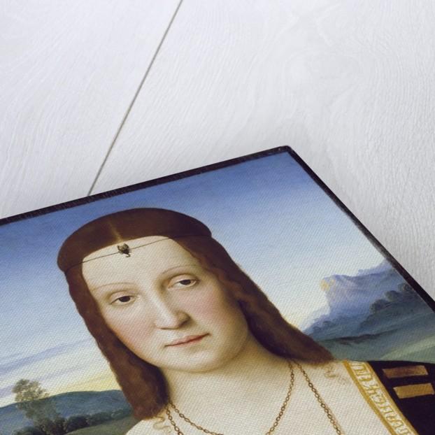 Portrait of Elisabetta Gonzaga by Raphael