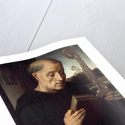 Benedict of Nursia by Hans Memling