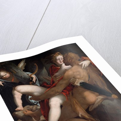 Hercules, Deianeira and the Dead Centaur Nessus by Bartholomaeus Spranger