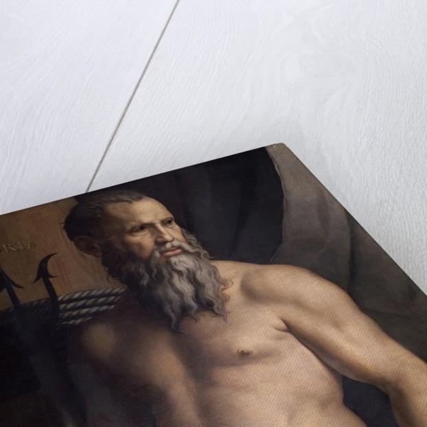 Andrea Doria as Neptune by Agnolo Bronzino