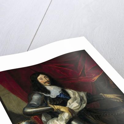 Portrait of Louis XIII of France, by Justus Van Egmont