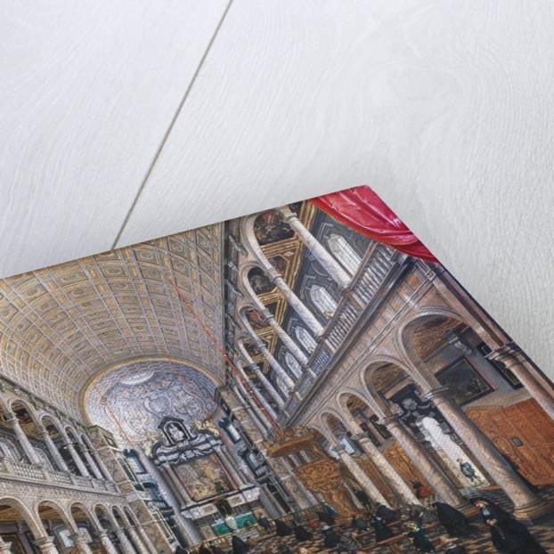 Interior of the Jesuit Church in Antwerp by Sebastian Vrancx