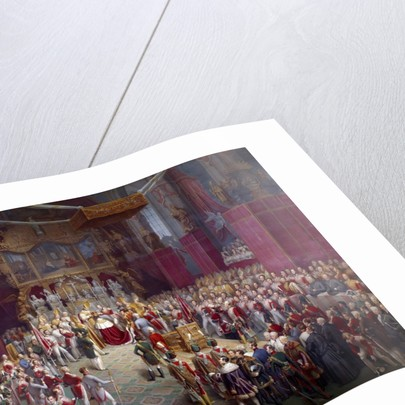 Emperor Ferdinand I of Austria's Sacre by Leopold Bucher