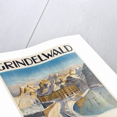 Grindelwald Bear Grand Hotel by Corbis