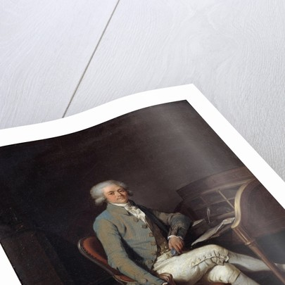 Portrait of Maximilien Robespierre, by Louis Leopold Boilly