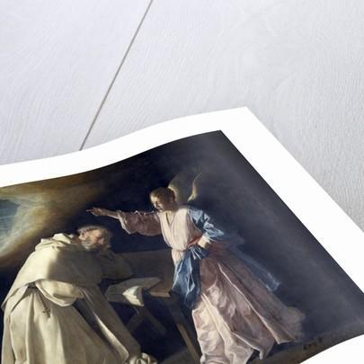 The Vision of Saint Peter Nolasco by Francisco de Zurbaran