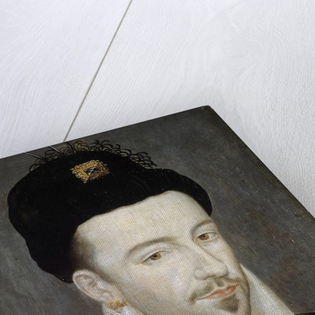 Portrait of King Henri III attributed to Jean Ducourt by Corbis