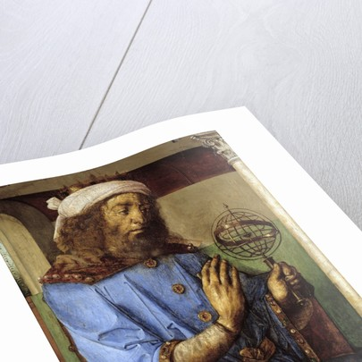 Portrait of Ptolemy - by Pedro Berruguete and Juste De Gand by Corbis