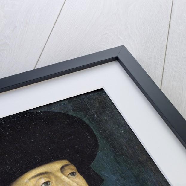 Portrait of Philip III of Burgundy called Philip the Good by Rogier van der Weyden