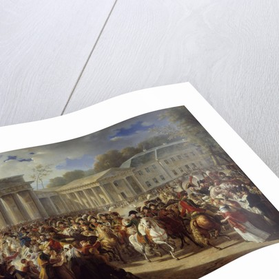 Entry of Napoleon I into Berlin by Charles Meynier