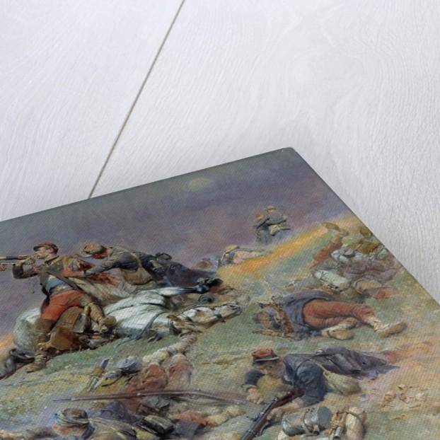 Death of Commandant Berbegier at the battle of Saint-Privat by Edouard Detaille