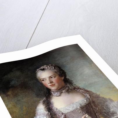 Portrait of Madame Adelaide de France by Jean-Marc Nattier