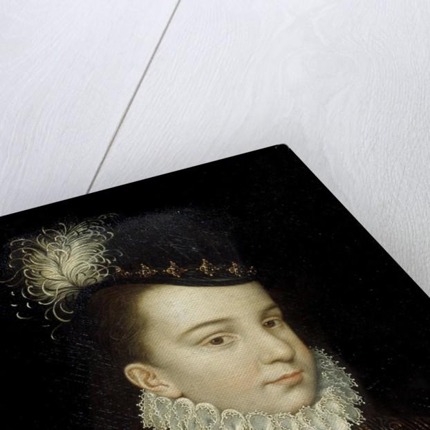 Portrait of Francois Hercule of France by workshop of Francois Clouet by Corbis