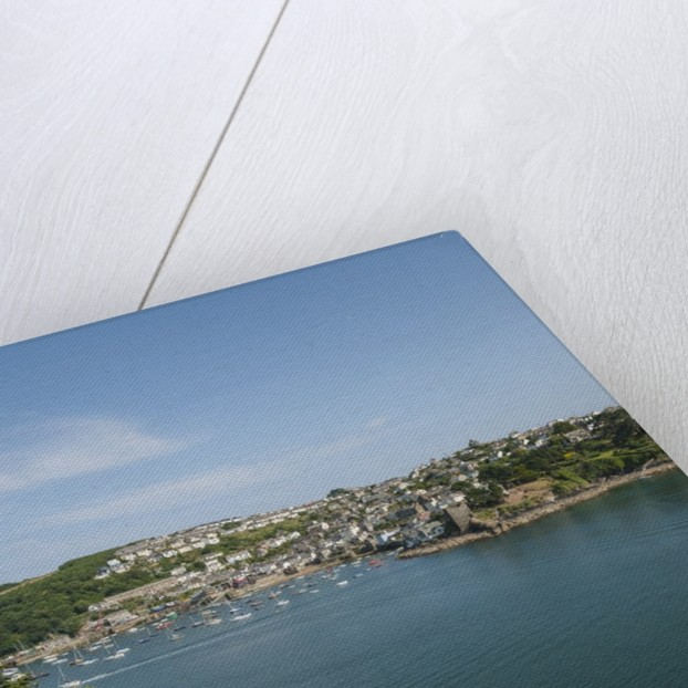 View of Polruan from Fowey by Corbis