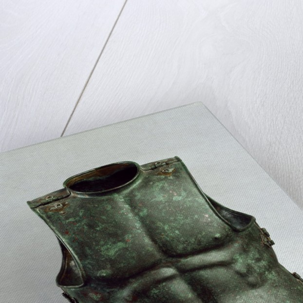 Bronze Cuirass, in form of a male torso, end 4th century BC by Corbis