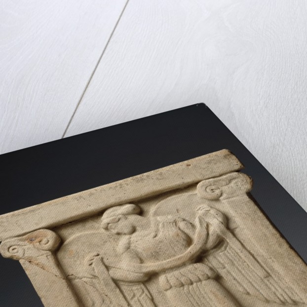 Altar with winged Nike, ca 450 BC by Corbis