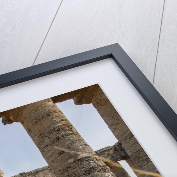 Segesta, the temple by Corbis