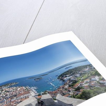 Hvar Town & Harbor by Corbis
