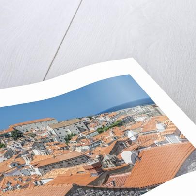 Dubrovnik Rooftops by Corbis