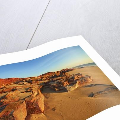 Cliff landscape at Cape Leveque by Corbis