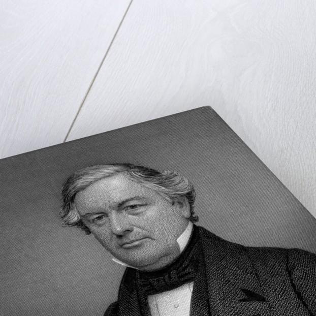 Portrait Engraving of Millard Fillmore by Corbis