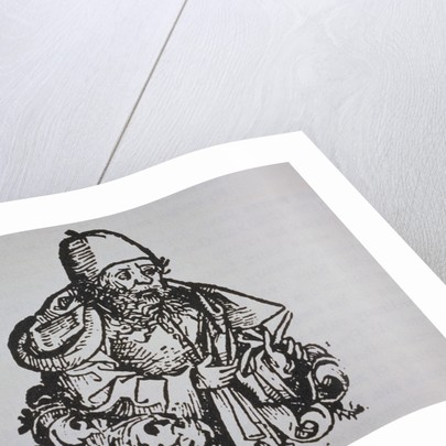 Guido Bonatti Book Illustration by Micheal Wohlgemuth