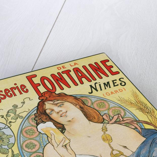 Brasserie de la Fontaine Poster by Artigue