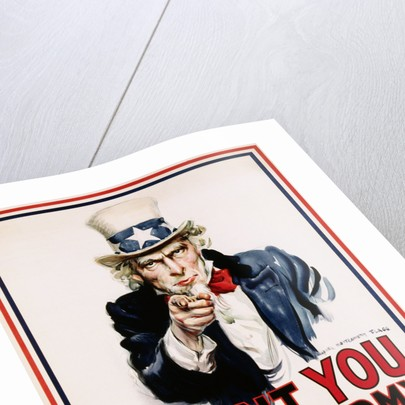 I Want You For The U S Army Recruitment Poster Posters Prints By James Montgomery Flagg