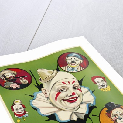 Menage of Clowns Poster by Corbis