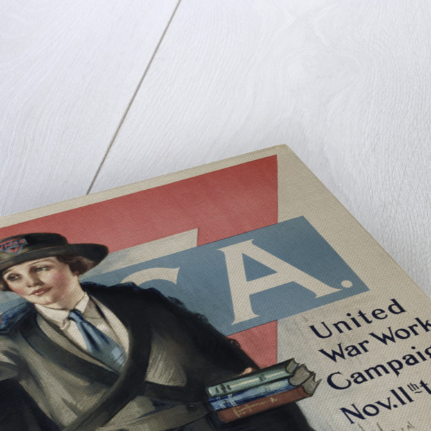 YMCA United War Work Campaign Poster by Neysa McMein