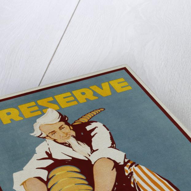 Preserve War Effort Poster by Housh