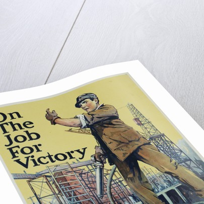 On the Job for Victory War Effort Poster by Corbis