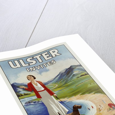 Ulster Invites Travel by Anchor Line Poster by Corbis