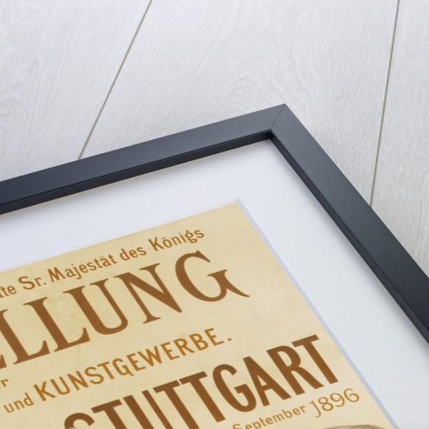 Ausstellung fur Elektrotechnik und Kunstgewerbe Poster by Corbis