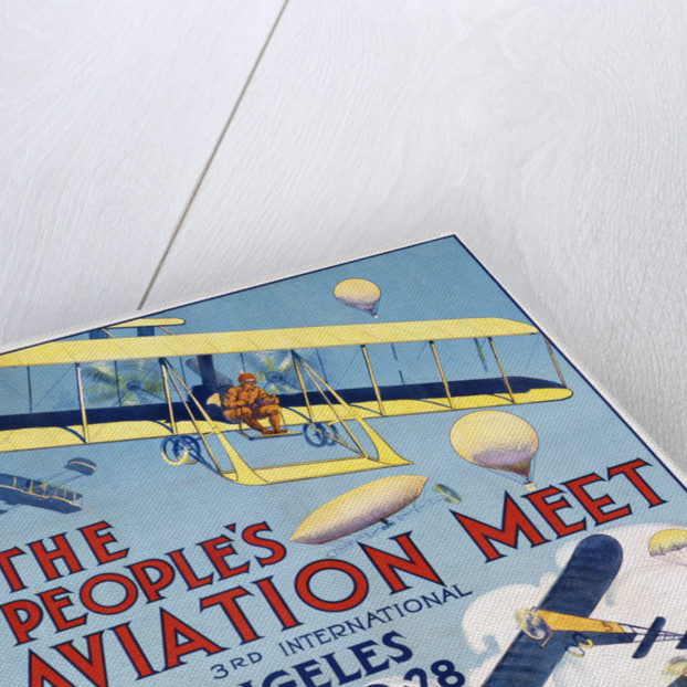 The People's Aviation Meet Poster by Corbis