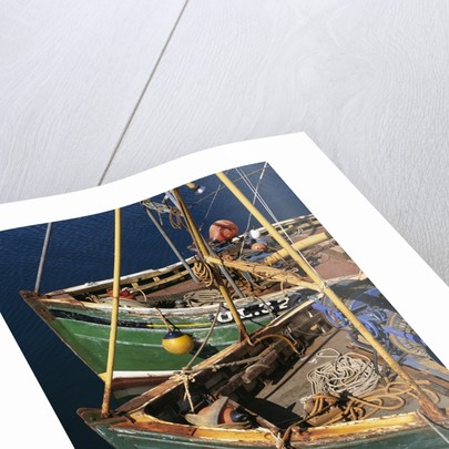 Fishing Boat Prows by Corbis