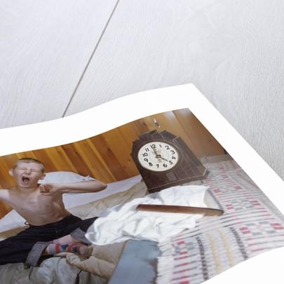 Boy Waking Up by Corbis