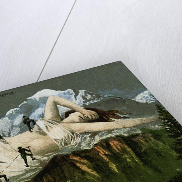 Die Jungfrau Postcard by Corbis