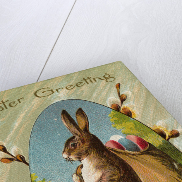 Easter Greeting Postcard by Corbis
