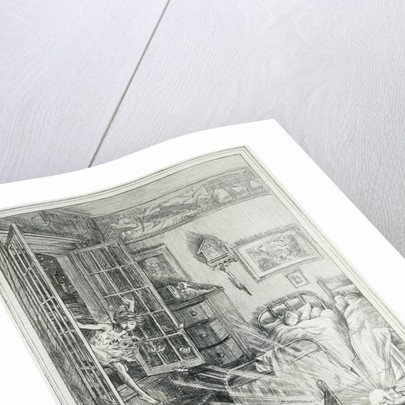 Peter Flew In Book Illustration by Francis Donkin Bedford