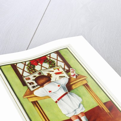 I Wish You a Jolly Christmas Postcard by Corbis