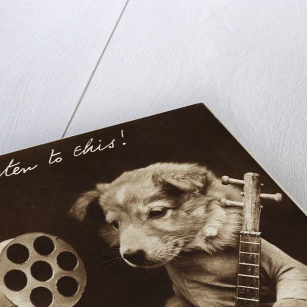 Listen to This! Postcard by Corbis
