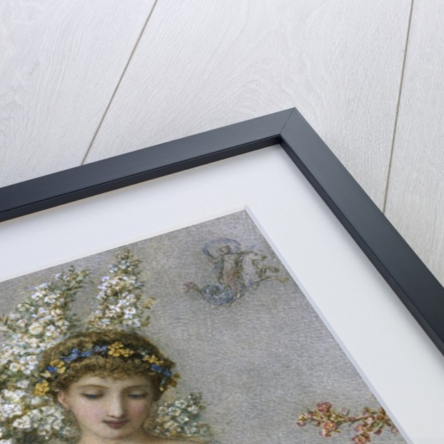 Falling Blossum by Augustus Jules Bouvier