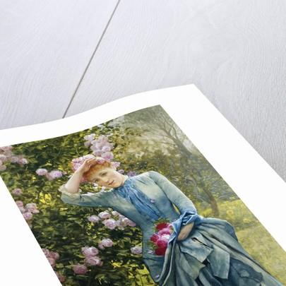 In the Rose Garden by Edward Killingworth Johnson
