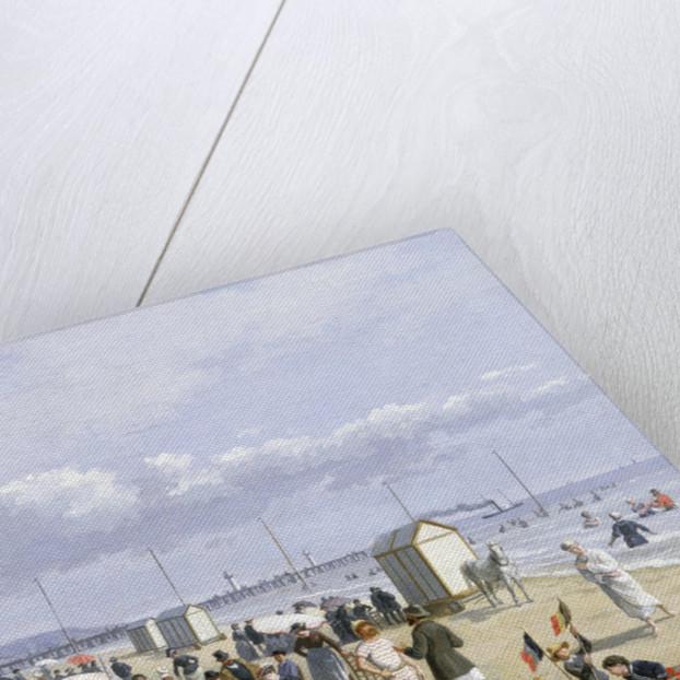 A Beach Scene by John Gadsby Chapman