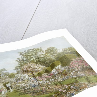 The Rose Garden, Clandon Park, Surrey, England by Thomas H. Hunn