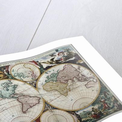 Orbis Terrarum Nova et Accuratissima Tabula by Nicholas Visscher
