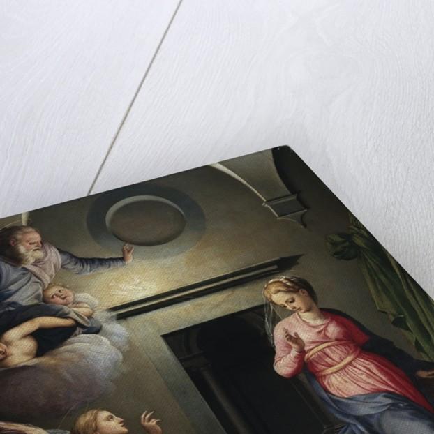Annunciation by Giovanni Bizzelli